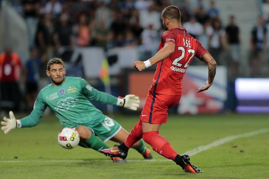 El español Jesé jugó frente a la Bastia en la Ligue 1 el pasado viernes. (Foto Prensa Libre: AFP)