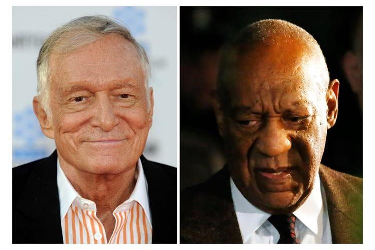 Una nueva demanda de abuso sexual involucra a Hugh Hefner con Bill Cosby. (Foto Prensa Libre: AFP)