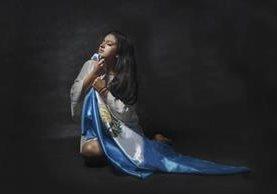 """""""Guate llora"""", es el título de esta imagen tomada en Las Vegas por la fotógrafa guatemalteca. (Foto Prensa Libre: Jaqueline Andre Photography)"""
