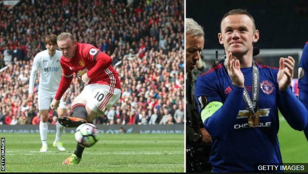 Pese a los goles y títulos, Rooney no generó el mismo sentimiento entre los aficionados de Manchester United que otras leyendas del club como Eric Cantona, Paul Scholes o Ryan Giggs.
