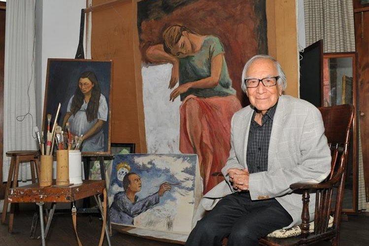 El artista mexicano Arturo García Bustos (Foto Prensa Libre: EFE).
