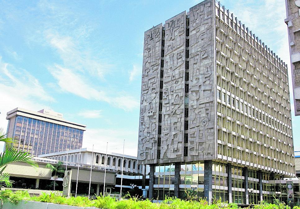 El Banco de Guatemala es el encargado de las decisiones sobre la política monetaria del país. (Foto Prensa Libre: Hemeroteca PL).