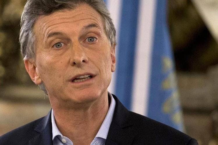 Mauricio Macri, presidente de Argentina. (Foto Prensa Libre: AP).
