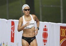 Erika Olivera es la atleta insignia de la delegación chilena en Río 2016. (Foto Prensa Libre: Tomada de internet / Mauricio Palma)