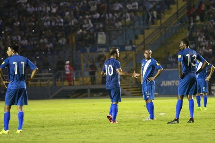 Guatemala no pudo concretar las únicas opciones de gol que tuvo y pagó las consecuencias. (Foto Prensa Libre: Jesús Cuque)