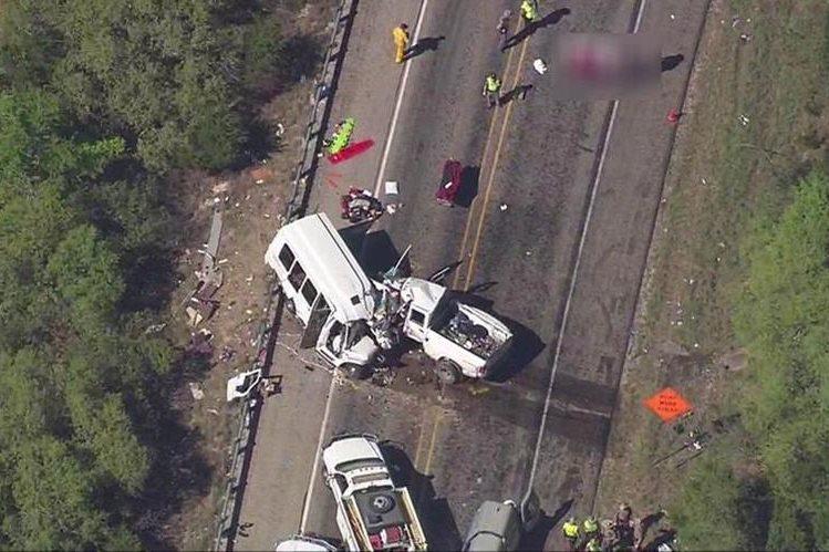 Varios muertos al chocar de frente dos camionetas en Texas