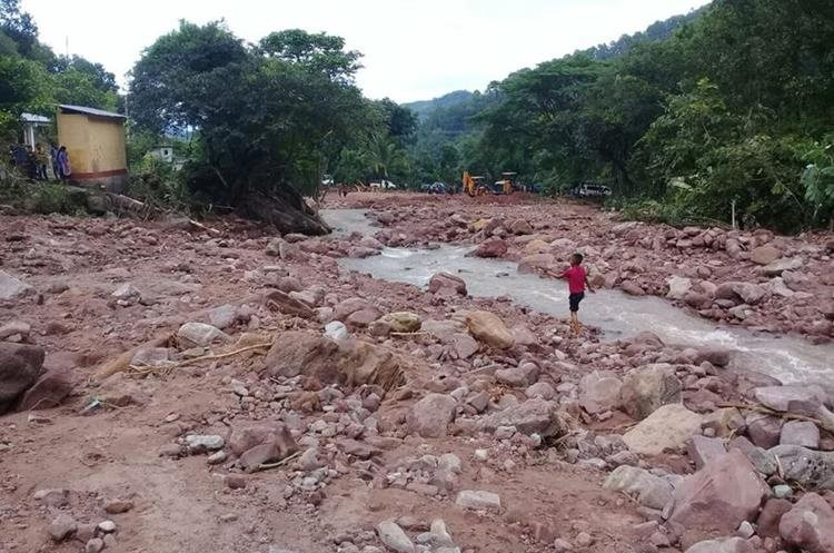 Varios sectores de Huehuetenango han sido afectados por la lluvia. (Foto Prensa Libre: Mike Castillo)