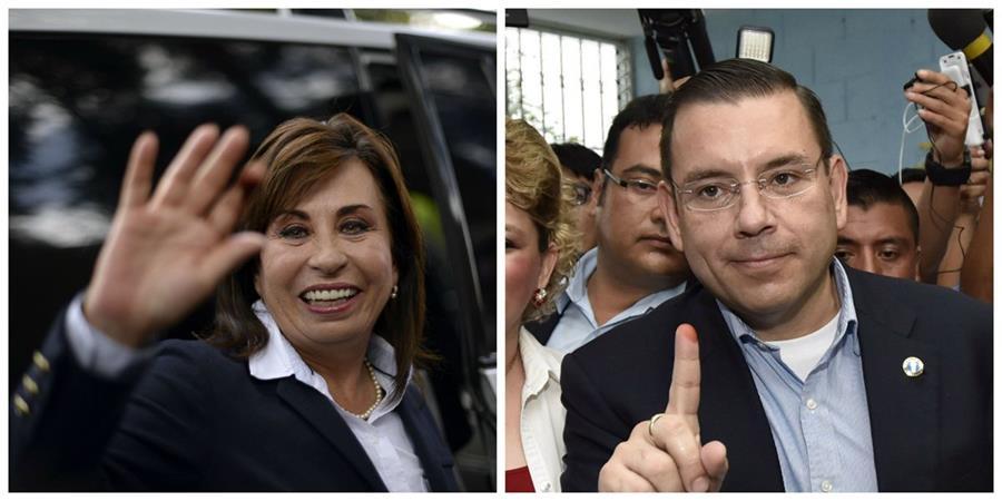 Jimmy Morales espera conocer hoy a su rival para la segunda vuelta entre Manuel Baldizón de Lider y Sandra Torres de la UNE. (Foto Prensa Libre: E. Bercian)