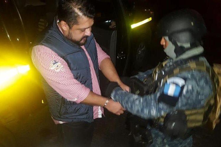 Jorge Salvador Galdámez León, alias Corvito, era buscado por narcotráfico. (Foto Prensa Libre: PNC)