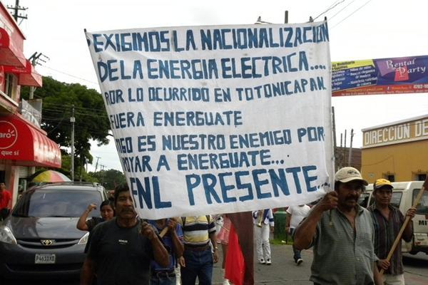 Celebración del 20 de octubre en Mazatenango, Suchitepéquez, en 2012. (Foto: Hemeroteca PL)