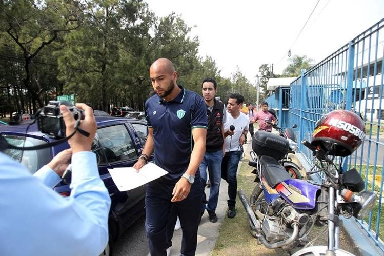 Los jugadores de Antigua GFC están inhabilitados desde enero. (Foto Prensa Libre: Hemeroteca PL)