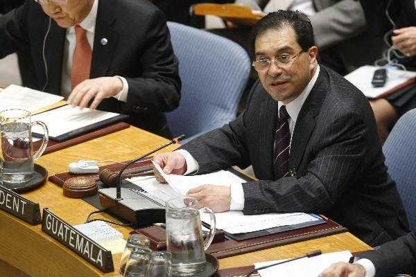<p>Ministro de Relaciones Exteriores, Harold Caballeros. (Foto Prensa Libre: Archivo)<br></p>