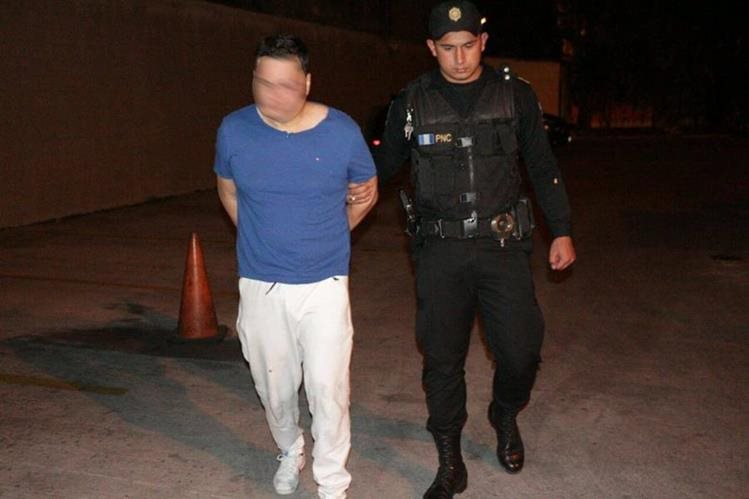 Johan Camilo Castillo Ackerman. (Foto Prensa Libre: PNC)