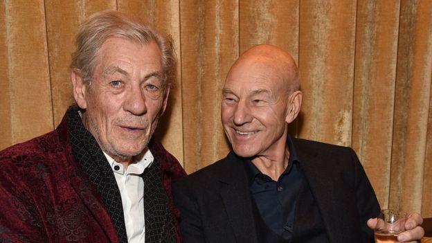 Ian McKellen y Patrick Stewart: ¿Cuál es más atractivo? ¿Y cuál más inteligente? (Getty images)
