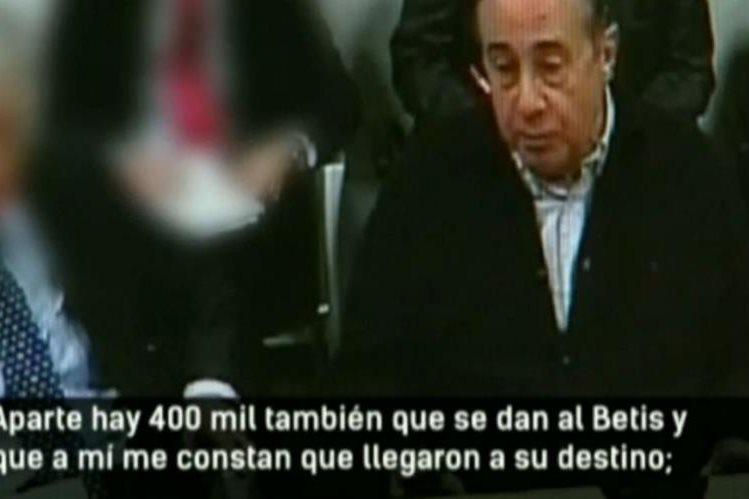 Ángel Viscay confiesa y relata los pasos que hacían para arreglar partidos. (Foto Prensa Libre: Video Antena 3)