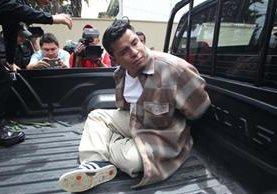 Presunto agresor sexual Luis Diego Herrera Sarti fue capturado el 4 de octubre en una residencia en la colonia Las Victorias, zona 14. (Foto Prensa Libre: Érick Ávila)