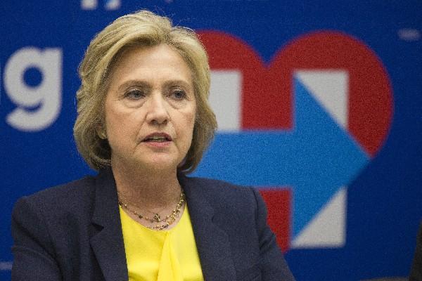 Hillary Clinton,precandidata presidencial demócrata.(AP).