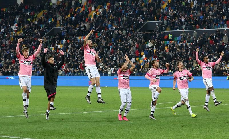 La Juventus volvió a sonreír en la Serie A. (Foto Prensa Libre: AP)