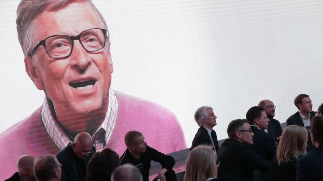 Bill Gates encabeza la lista. ¿Quiénes son los demás? (GETTY IMAGES)