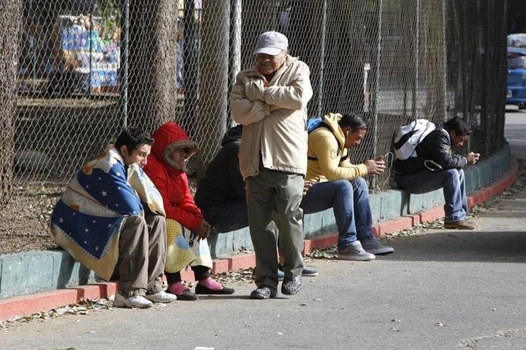 Se prevé que el fin de semana exista frío particularmente en la noche y madrugada. (Foto Prensa Libre: Hemeroteca PL)