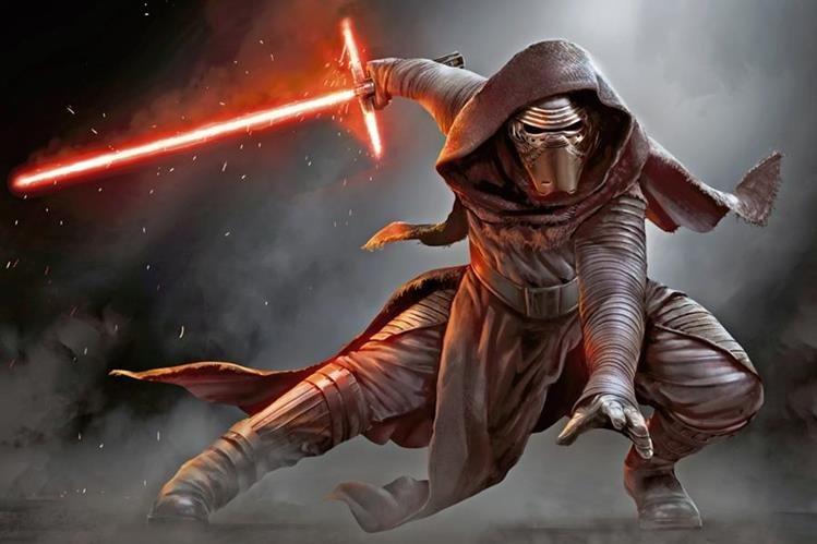 KYLO REN es un seguidor del señor oscuro Darth Vader.