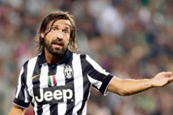 Andrea Pirlo no estará disponible para el juego de la Juventus frente al Parma. (Foto Prensa Libre: Hemeroteca PL).