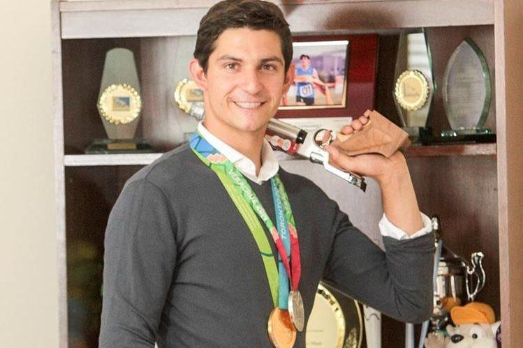 Charles Fernández fue elegido Personaje Deportivo de Tododeportes de Prensa Libre. (Foto Prensa Libre: Norvin Mendoza).