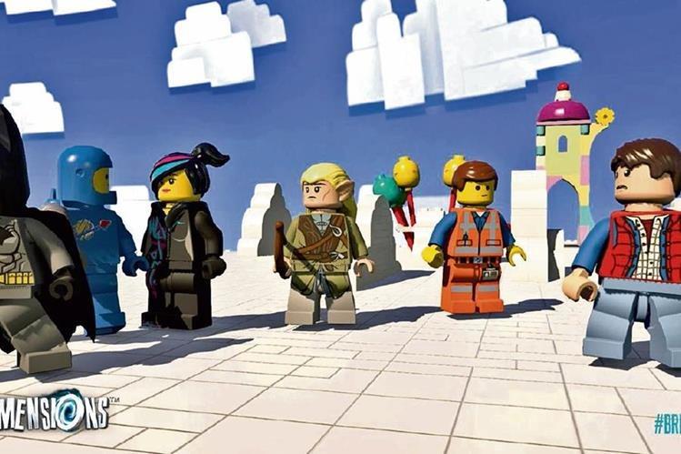 Distintos personajes que se van adquiriendo ayudarán a evitar que se destruya el multiuniveso Lego.