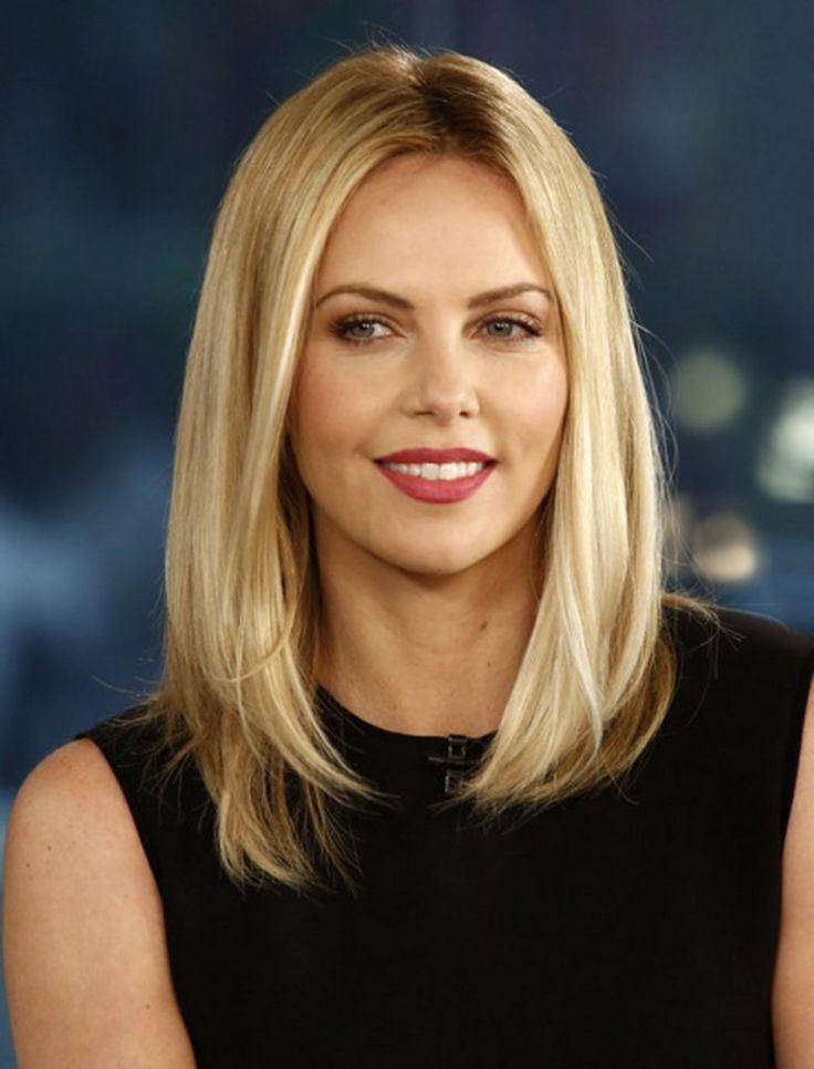 El cabello lacio puede favorecer a adelgazar el rostro. (Foto Prensa Libre: Pinterest).