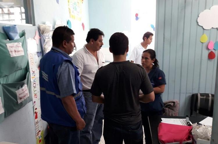 PDH y PGN intervinieron para que la menor reciba atención médica en el Hospital Roosevelt. (Foto Prensa Libre: Cortesía PDH)