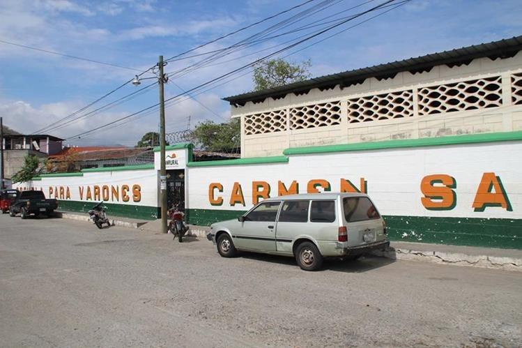 La Escuela para Varones Carmen Sagastume Cáceres, en Gualán, ha sido saqueada en los últimos 15 días. (Foto Prensa Libre: Julio Vargas)