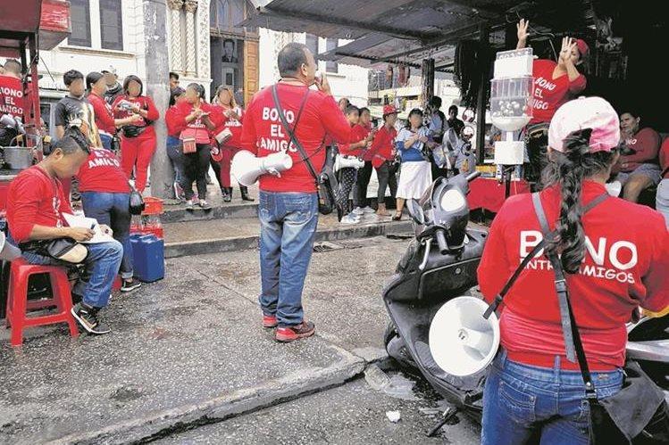 La lotería del Bono del Amigo se efectúa en varios departamentos.(Foto Prensa Libre: Hemeroteca PL)