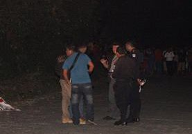 Lugar donde ocurrió el hallazgo en Mazatenango, Suchitepéquez. (Foto Prensa Libre).
