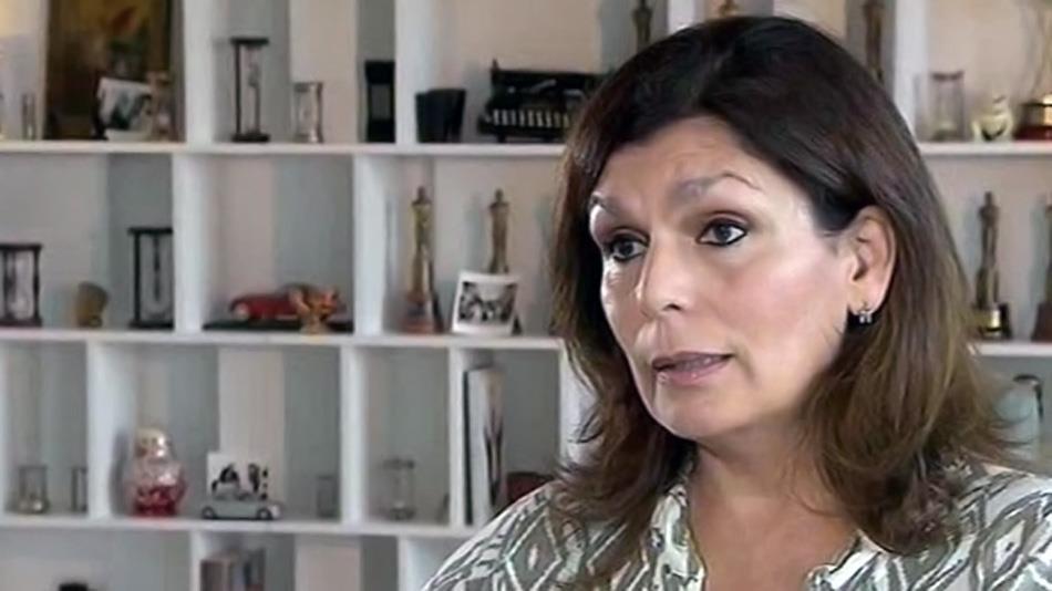 Miriam Quiroga, durante la entrevista con Jorge Lanata en el 2013. (Foto: Youtube).
