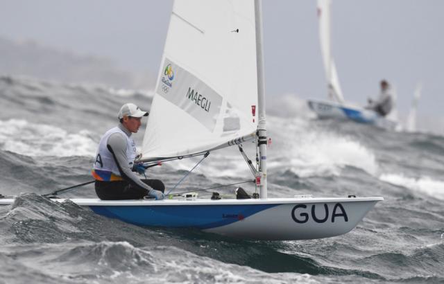 Juan Ignacio Maegli no ha podido mejorar su nivel en sus terceros Juegos Olímpicos. (Foto Prensa Libre: COG)