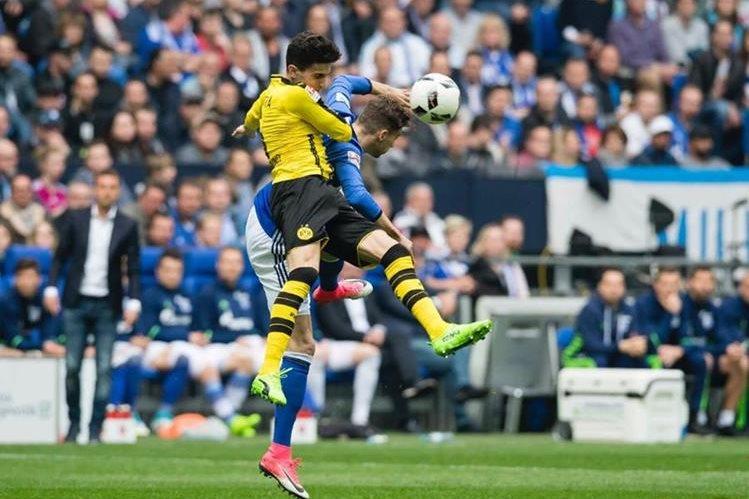 Marc Batra, jugador del Borussia Dortmund. (Foto Prensa Libre: Hemeroteca PL)
