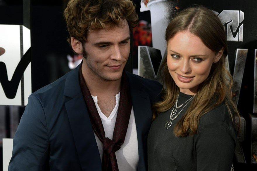 Sam Claflin y Laura Haddock serán padres en 2016. (Foto Prensa Libre: EFE)