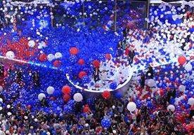 Hillary Clinton aceptó la nominación a la Presidencia de EE. UU.