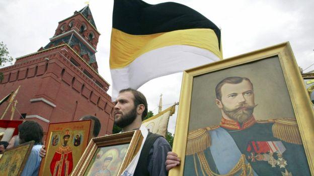 El lujo de la corte de Nicolás II contrastaba con la pobreza de la mayoría de los rusos. AFP
