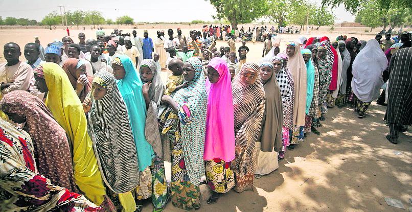 <em>Nigeria, el país mas poblado del continente africano, realiza esta práctica, pese a ruegos de organizaciones que defienden los derechos de la mujer. (Foto Hemeroteca PL).</em>