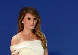 Melania Trump es la protagonista el nuevo número de la edición mexicana de la revista Vanity Fair. (Foto Prensa Libre: AFP)