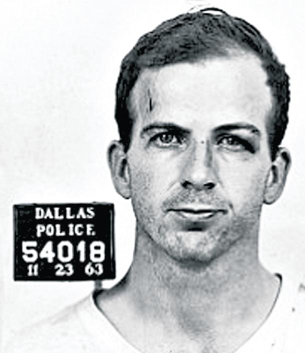 Retrato policiaco de Lee Harvey Oswald, presunto asesino del presidente Kennedy. (Foto: Hemeroteca PL)