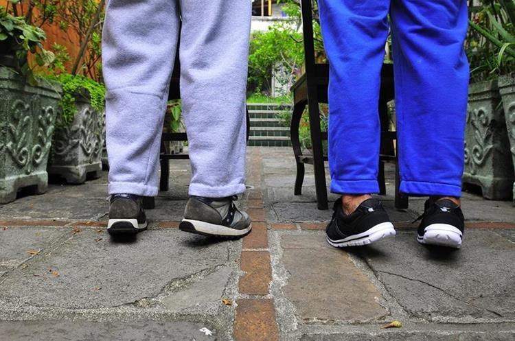 Una rutina diaria contribuye al equilibrio y la coordinación. (Foto Prensa Libre: Sandra Vi)