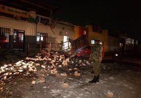 Se reportaron daños moderados en viviendas en el suroccidente del país, así como algunos derrumbes en carreteras, indicó la agencia. (Foto Prensa Libre)