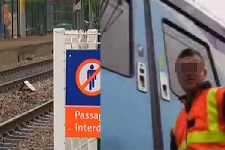 Lugar del suicidio grabado en directo en aplicación Periscope en Egly, Francia.