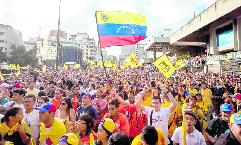 Venezuela ha afrontado una serie de protestas en contra y a favor del chavismo. (Foto: Hemeroteca PL)