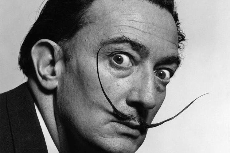 El pintor Salvador Dalí falleció en 1989. (Foto Prensa Libre: totenart.com)