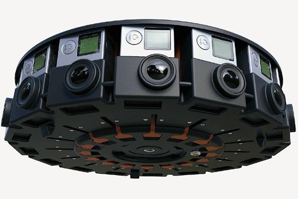 Una nueva base presentada por GoPro permite colocar 16 cámaras para grabar contenido en realidad virtual (Foto Prensa Libre: Hemeroteca PL).
