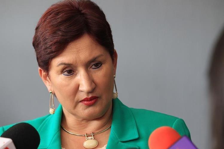 Thelma Aldana, fiscal General. (Foto Prensa Libre: Hemeroteca PL)