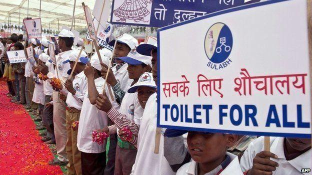 Según la ONU, el 40% de la población no tiene acceso a mejorías sanitarias. AFP